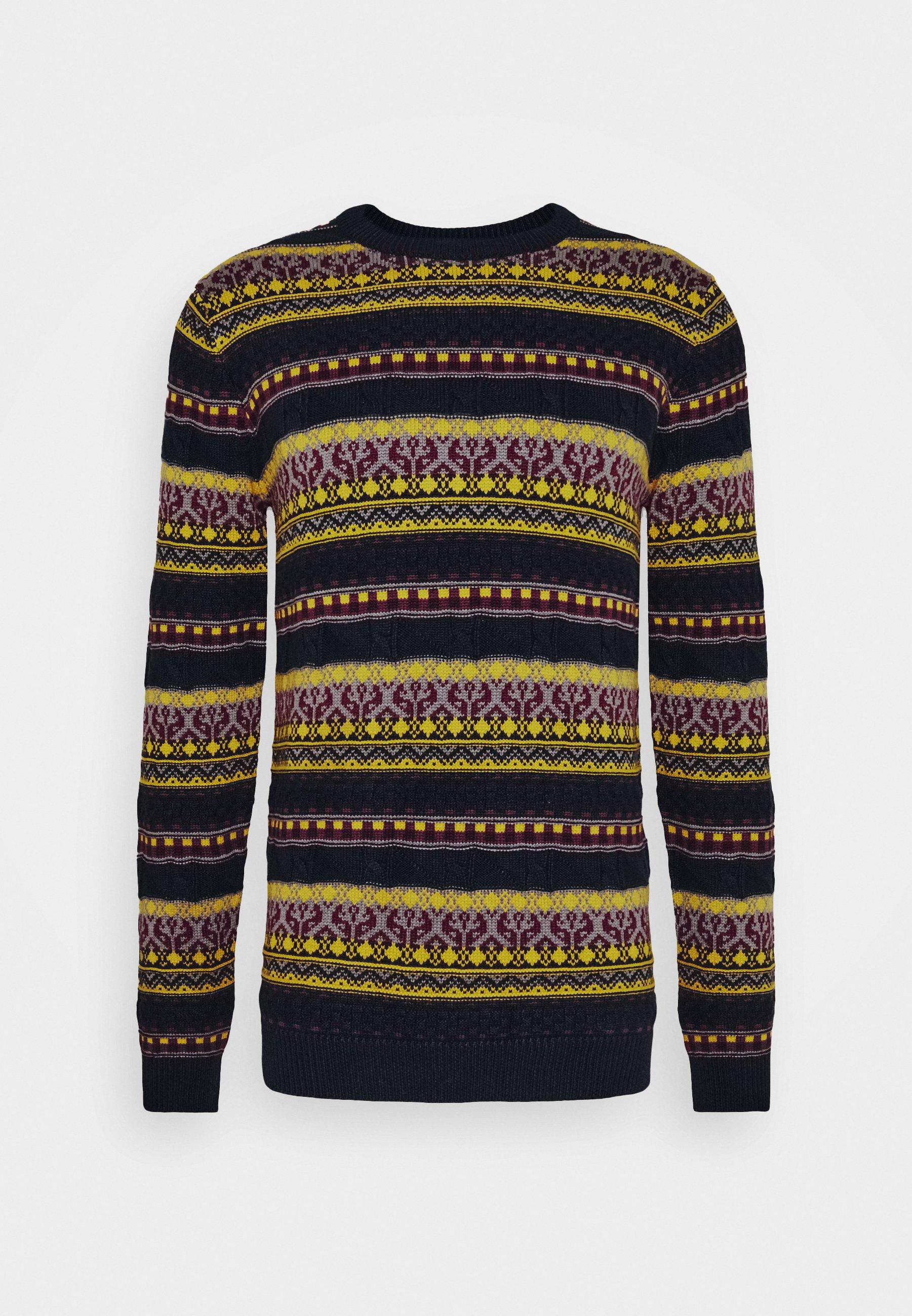 Morgan trui donkerblauw | wehkamp