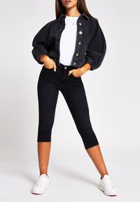 River Island - Denim jacket - black - 1
