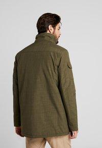 Hi-Tec - HERSHEL - Zimní kabát - olive night - 4