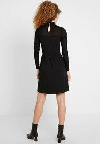 ONLY - ONLNIELLA DRESS - Vestido ligero - black - 3
