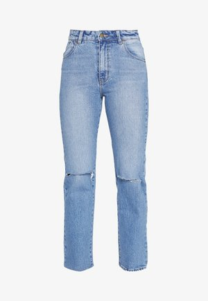 ORIGINAL STRAIGHT - Džíny Straight Fit - destroyed denim