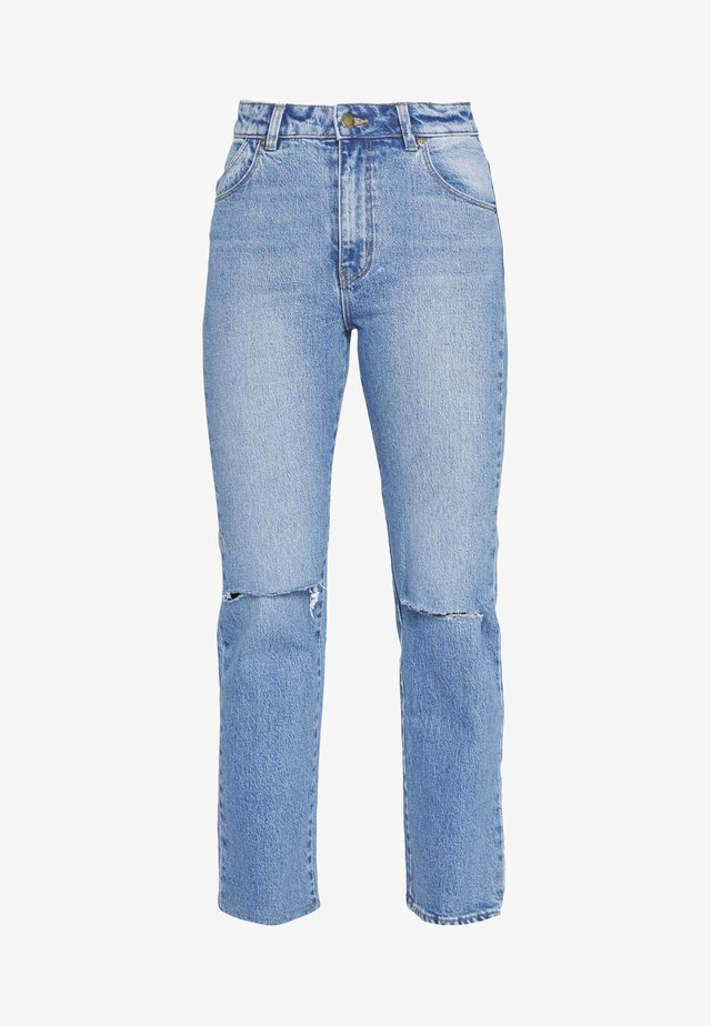 ORIGINAL STRAIGHT - Straight leg jeans - destroyed denim
