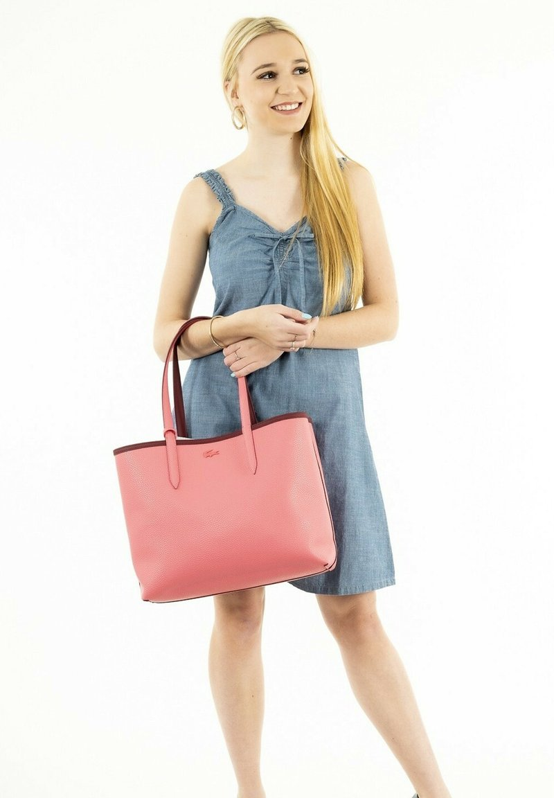 Lacoste - Handbag - rouge