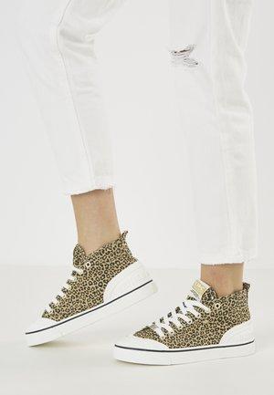 SUB MID - Baskets montantes - leopard