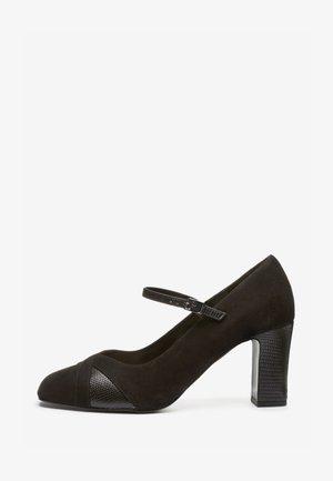 MARY JANE COURT - Sandály na vysokém podpatku - black