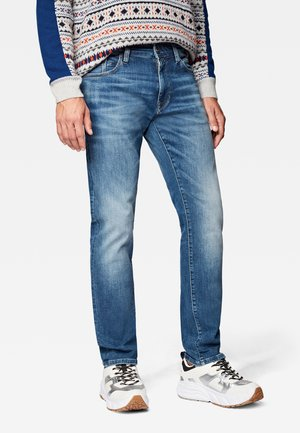 MARCUS - Straight leg jeans - indigo vintage ultra move