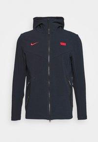 Nike Performance - FRANKREICH HOODIE - National team wear - dark obsidian/university red - 0