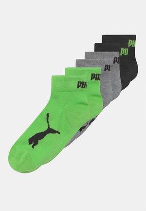 KIDS QUARTER 6 PACK UNISEX - Socks - green flash