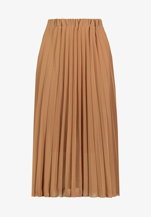 A-line skirt - middle-brown