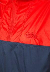 The North Face - CYCLONE - Veste coupe-vent - horizon red/vintageindigo - 6