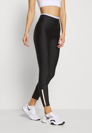 TRACK RUN - Leggings - black