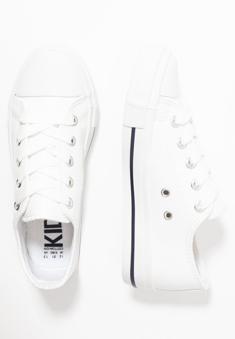 Cotton On - CLASSIC TRAINER LACE UP - Tenisky - white smooth