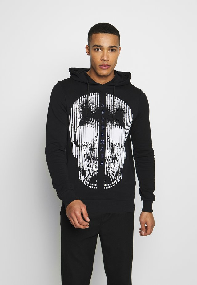 HOODIE WITH SKULL  - Sweat à capuche - black