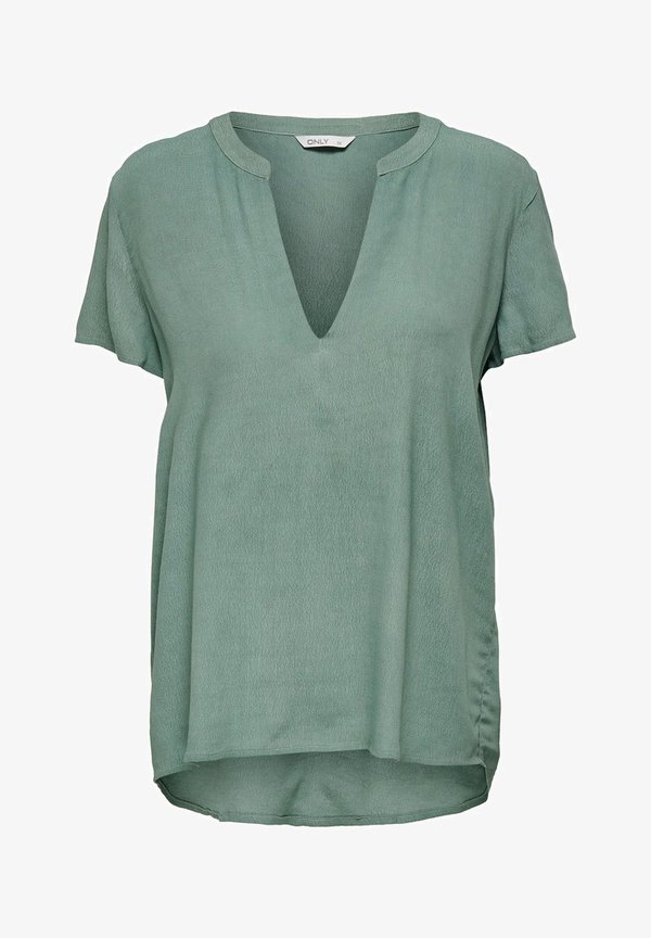 ONLY Bluzka - chinois green/zielony JQSU