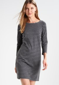 Vila - VITINNY - Day dress - medium grey melange/black - 0