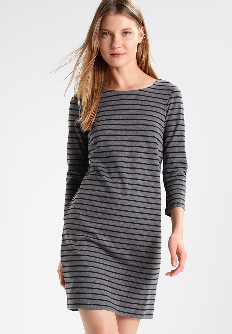 Vila - VITINNY - Day dress - medium grey melange/black