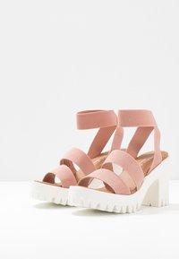 Madden Girl - SOHOO - Højhælede sandaletter / Højhælede sandaler - blush - 4