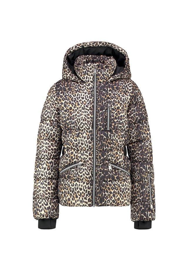 TAILA - Winter jacket - multicolor brown