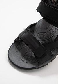 Keen - TARGHEE III OPEN TOE  - Walking sandals - black/grey - 5