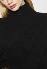 Weekday - AGGIE TURTLENECK - Jersey de punto - black - 5