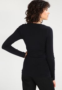 J.CREW - SLIM PERFECT  - Long sleeved top - black - 2