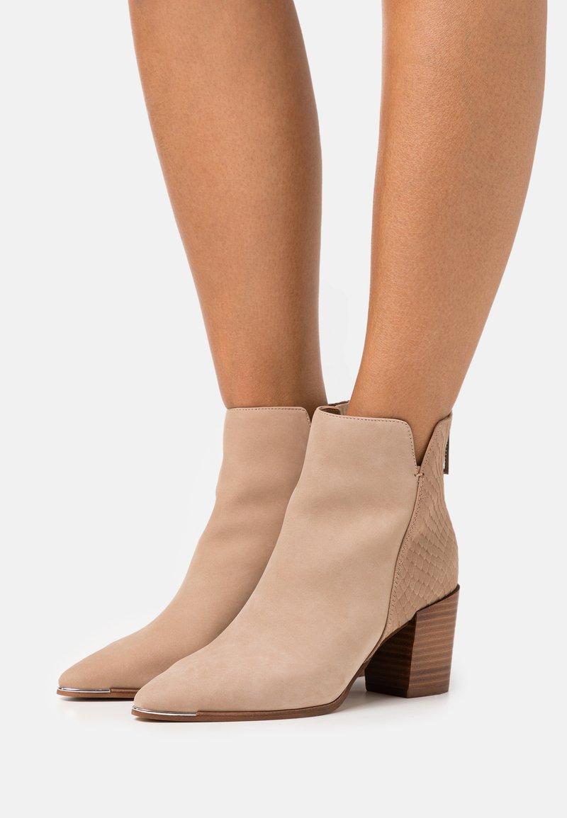 ALDO - JANEECE FLEX - Ankle boots - beige