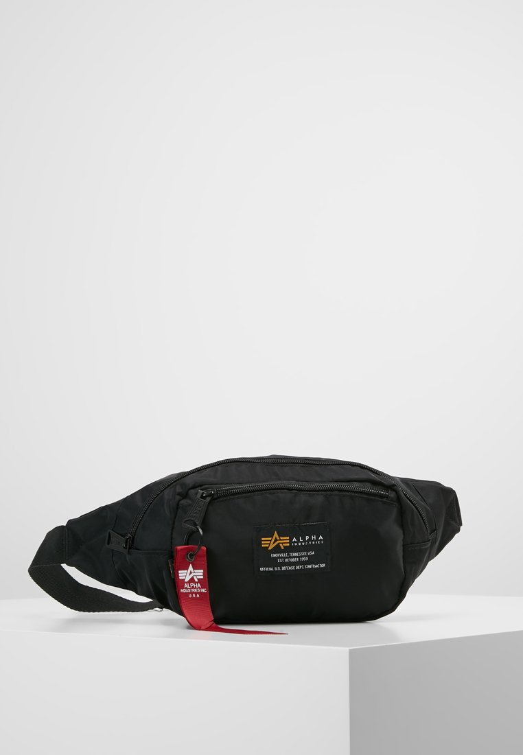 Alpha Industries - CREW WAISBAG - Marsupio - black