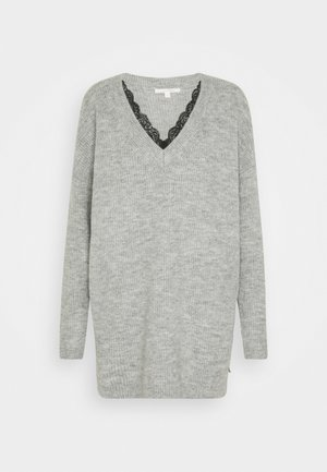 Jumper - light silver grey mélange