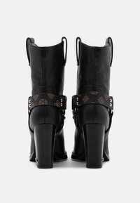 Guess - FLAVIA - High heeled ankle boots - brown/ocra - 3
