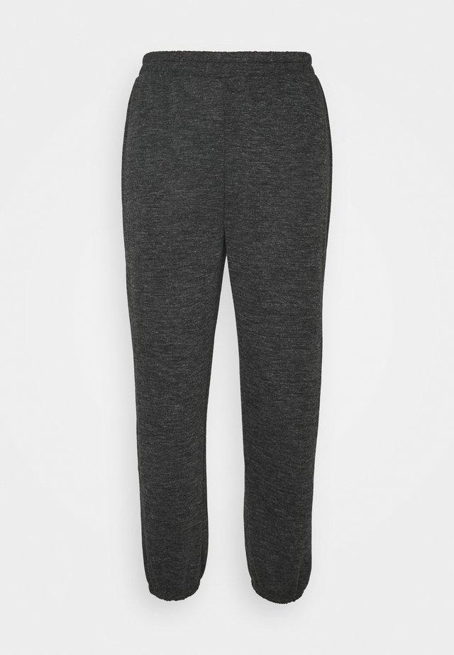 PCRELINO PANTS  LOUNGE - Tracksuit bottoms - dark grey melange