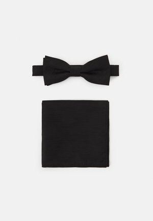 ONSTANNER BOW TIE BOX SET - Pocket square - black