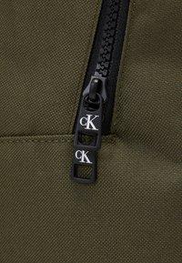 Calvin Klein Jeans - INSTITUTIONAL LOGO BACKPACK - Zaino - green - 3
