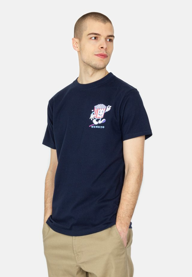 T-shirt imprimé - navy blue