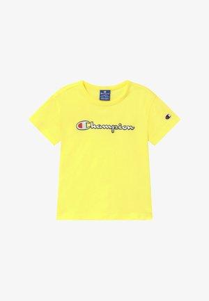 LOGO CREWNECK - Triko spotiskem - yellow