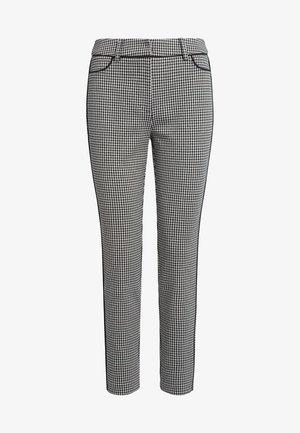 Pantalon classique - schwarz-taupe