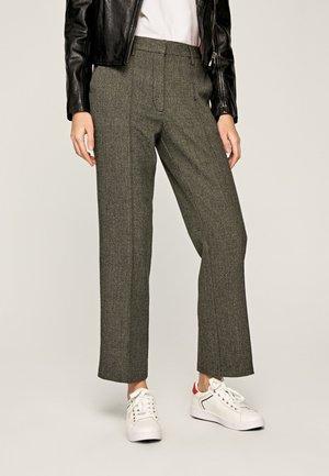 ROSENDA - Spodnie materiałowe - grey