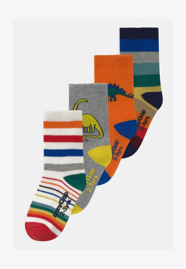 TODDLER BOY HAPPY 4 PACK - Calcetines - multi-coloured