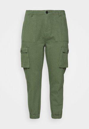 CARGO - Trousers - khaki