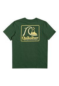 Quiksilver - BEACH TONES - Print T-shirt - greener pastures - 1