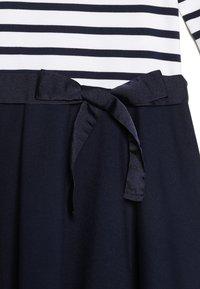 Polo Ralph Lauren - PONTE STRIPE - Robe en jersey - french navy/white - 3