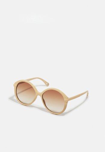 Okulary przeciwsłoneczne - ivory/brown