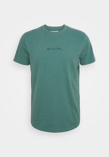 CURVED HEM MAY - T-shirt - bas - green