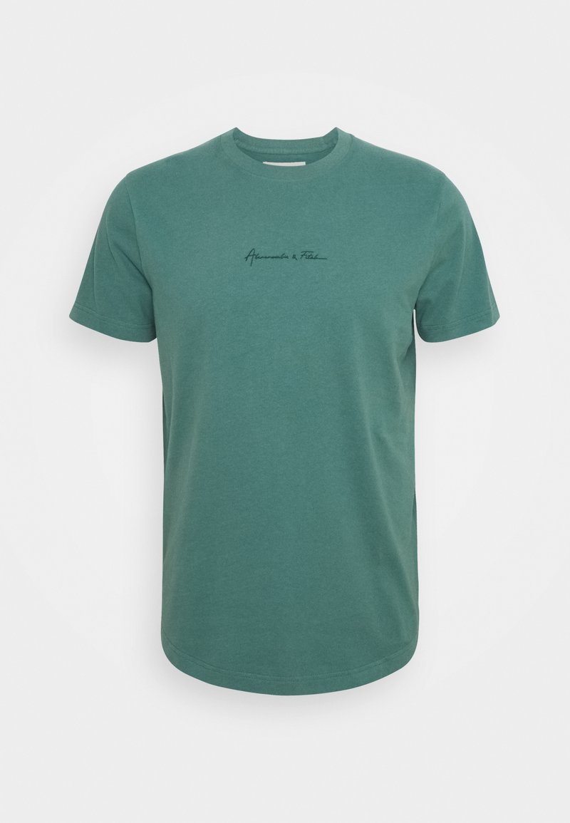 Abercrombie & Fitch - CURVED HEM MAY - T-shirt - bas - green