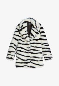 Bershka - Classic coat - stone - 4