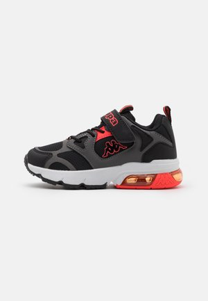 UNISEX - Sports shoes - black/coral