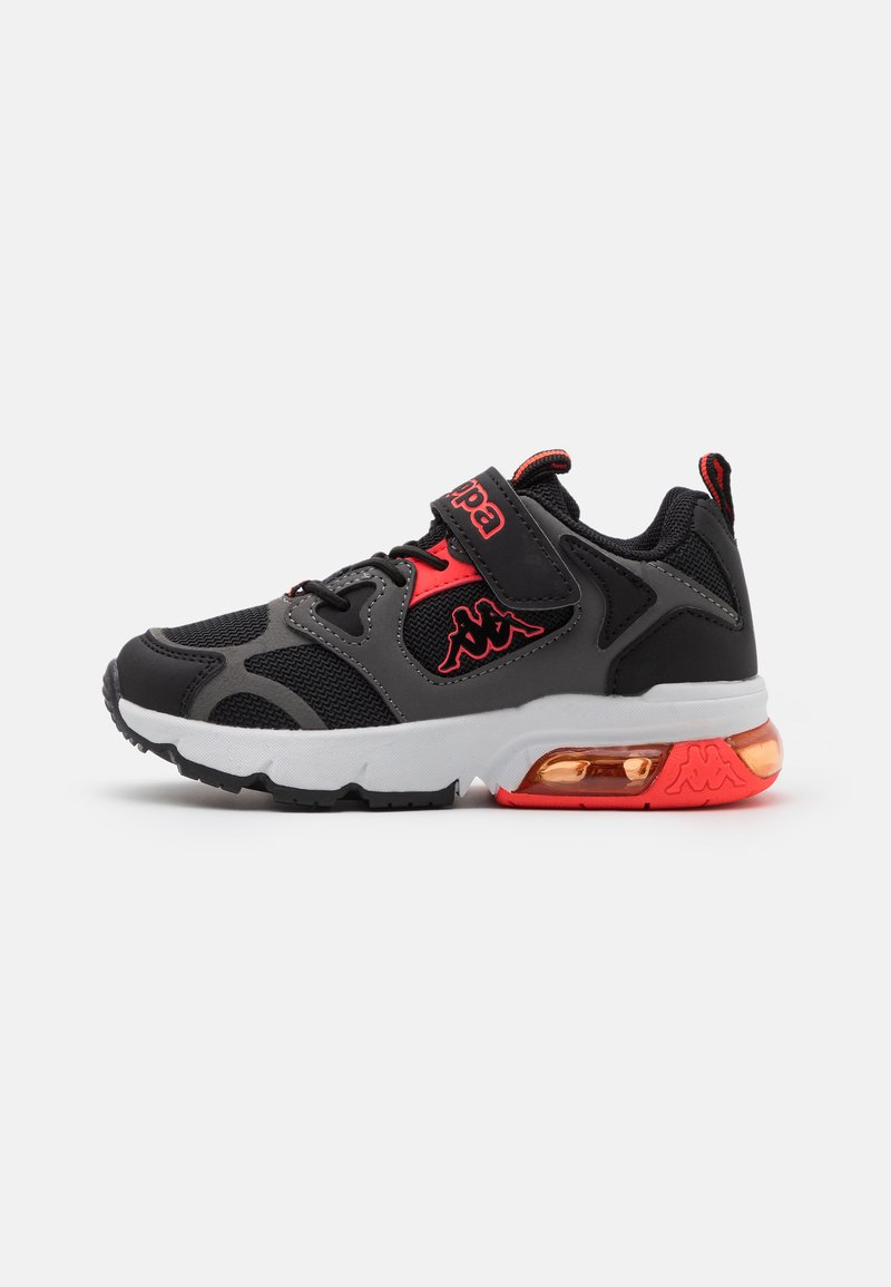 Kappa - UNISEX - Sports shoes - black/coral