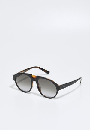 UNISEX - Sunglasses - black/havana