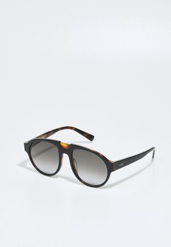 UNISEX - Sunglasses - black/havana