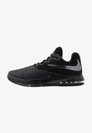 AIR MAX INFURIATE III LOW - Basketball shoes - black/metallic dark grey/anthracite
