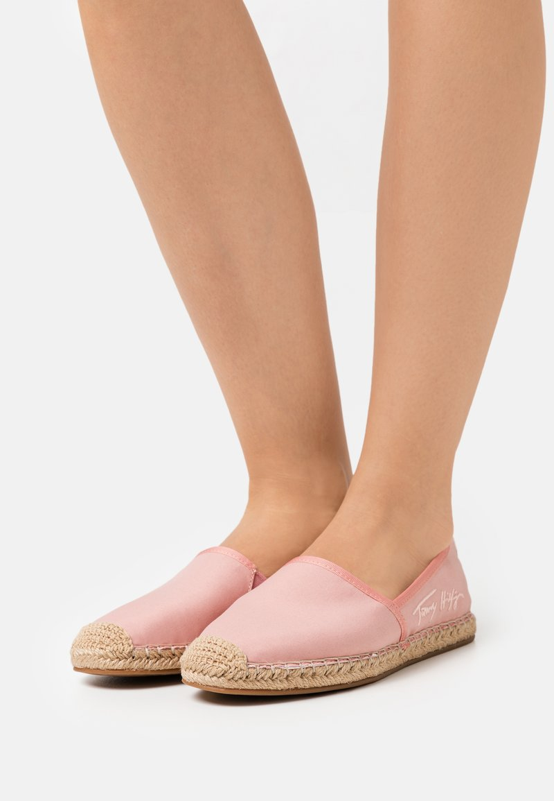 Tommy Hilfiger - SIGNATURE  - Espadrilles - soothing pink